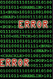 Disaster Recovery- Error Glitch