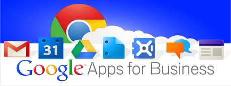 Google Apps for Business banner